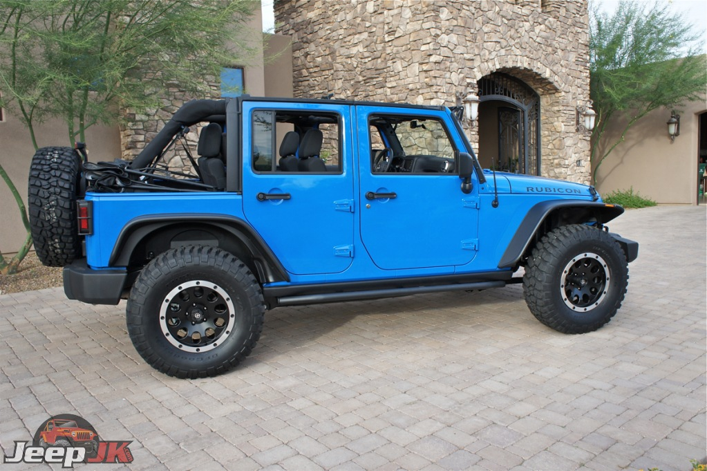 35 Inch Tires And 1.5′ of Lift