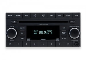 Jeep JK stock radio