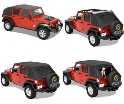 Jeep Wrangler JK 4 Door Top