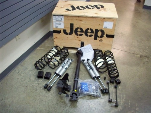 jeep will offer oem lift kits jeep jk jeep jk. Black Bedroom Furniture Sets. Home Design Ideas