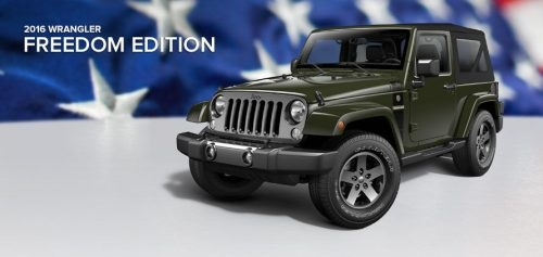 Wrangler Sport Freedom Edition on oscar mike edition