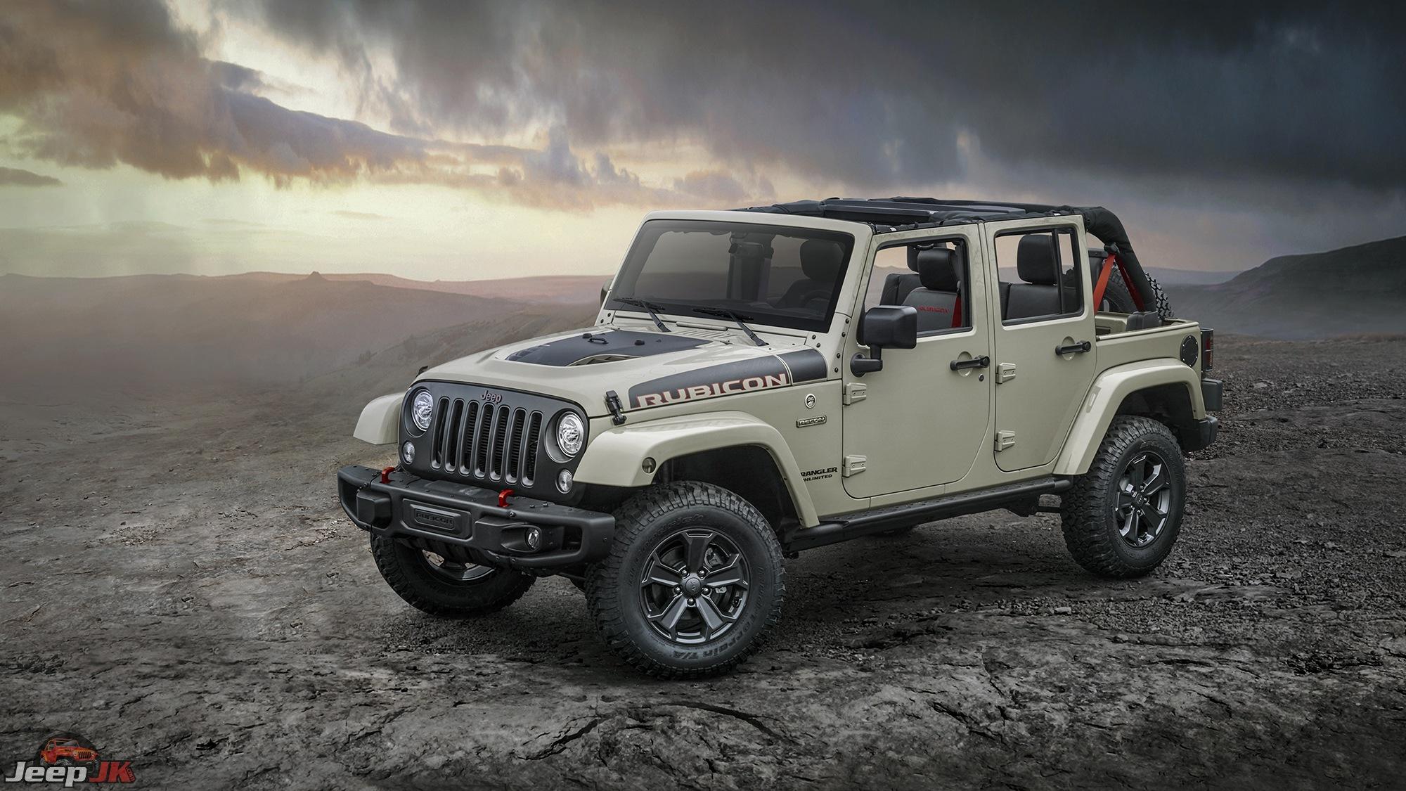 Jeep Wrangler Rubicon Recon Special Edition Jeep Jk