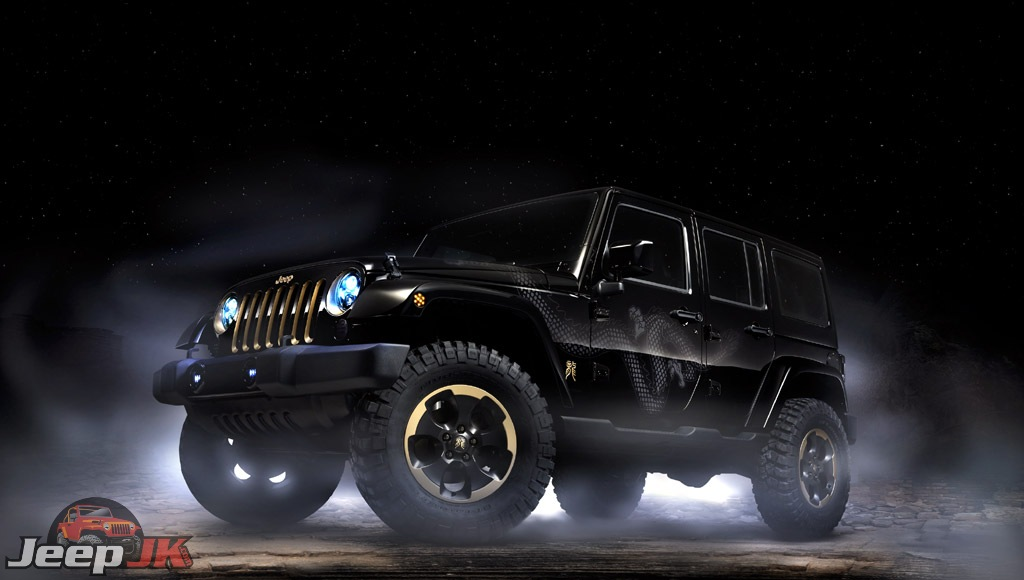 Wrangler Dragon Edition Jeep Jk