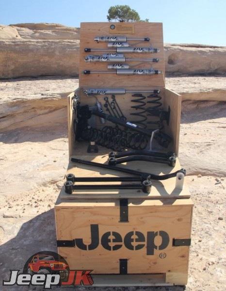 Wrangler OEM lift kits